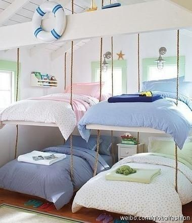 Space saver beds!