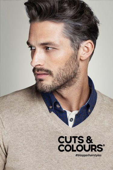 Een simpel en casual mannenkapsel: korter aan de zijkanten en bovenop het hoofd langer