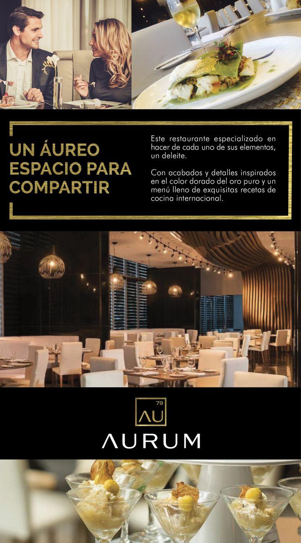 Te invitamos a conocer más sobre AURUM, un aúreo espacio para compartir.