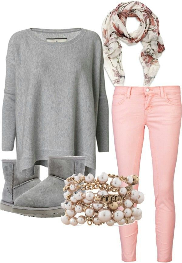 Cute Winter Outfits with UGG Boots