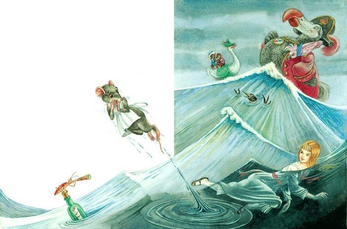 0_f8894_e99ca3a6_XXL (700x463, 277Kb) Иллюстратор Максим Митрофанов -«Алиса в стране чудес»