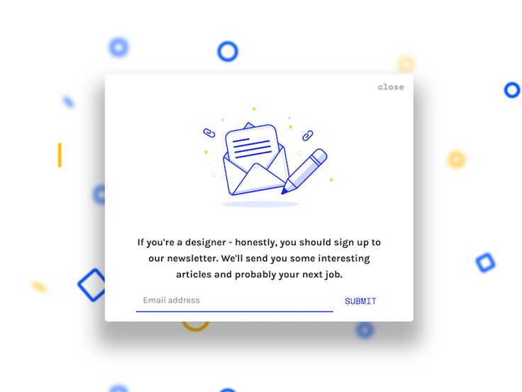 Modal On The Sketch Labs Articles Page Illustration Of Course By @Al Power  Check It