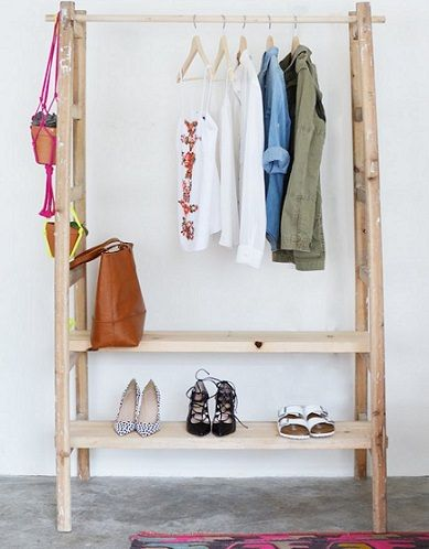M s de 1000 ideas sobre armario casero en pinterest - Burro colgar ropa ikea ...