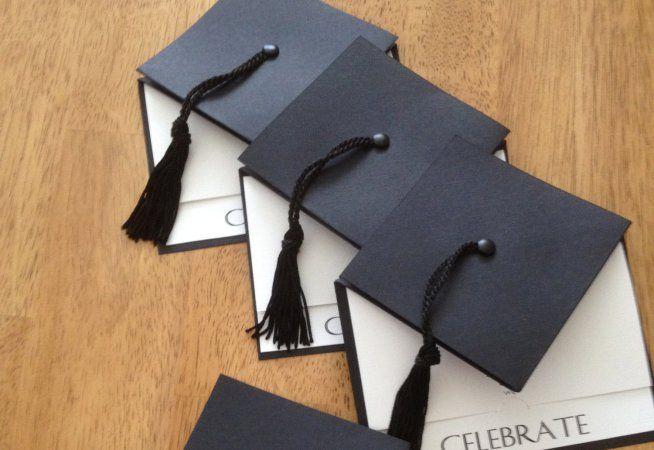 Invitaciones para graduación con moldes
