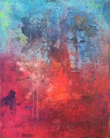 "Saatchi Art Artist Agnieszka C Niezgoda; Painting, ""5th of August"" #art"