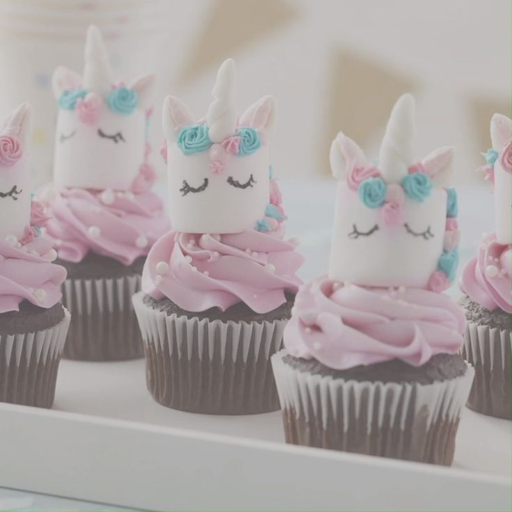 How to Make Unicorn Cupcake Toppers