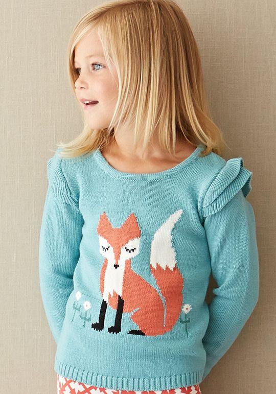 Matilda Jane Clothing Clever Fox Sweater