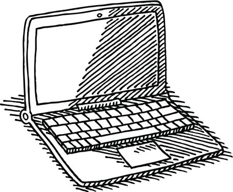 Laptop Computer Drawing
