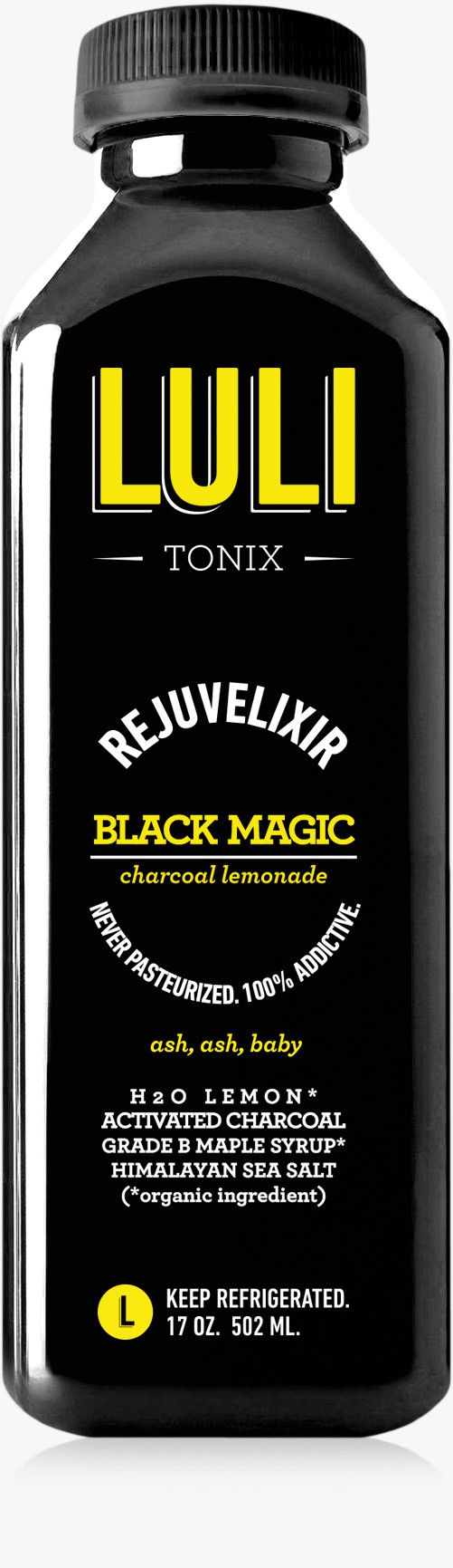BLACK MAGIC: Activated Charcoal Elixir