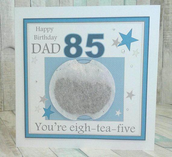 Personalised 85th Birthday Card Grandad 85th Birthday Dad Etsy Birthday Cards Grandad Birthday Cards Dad Birthday