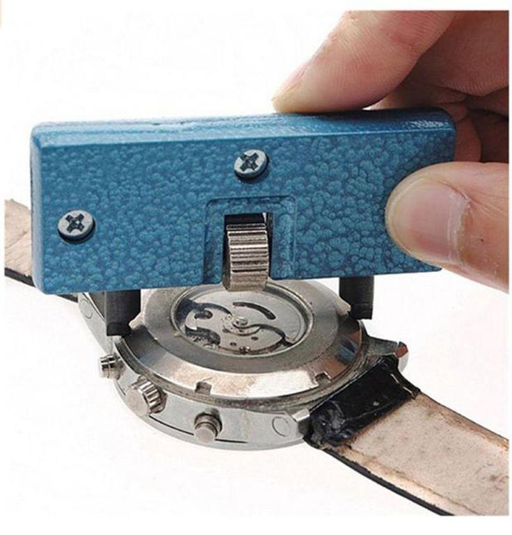 Horloge gereedschap Horloge Verstelbare Opener Case Druk