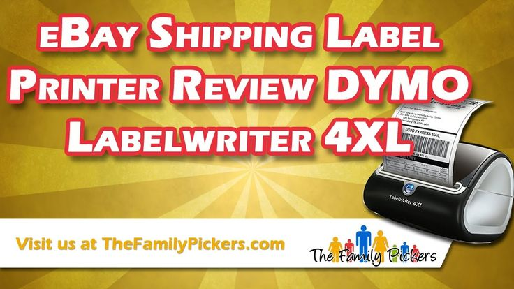 eBay Shipping Label Printer Review - DYMO Labelwriter 4XL Thermal Printer