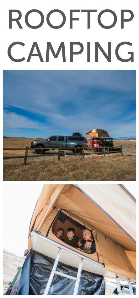 Rooftop camping with a whole family, up off the ground on a military trailer. You can camp for free on land managed by the Bureau of Land Management and find other free spots with http://FreeCampsites.net or book for a small fee through Reserve America.