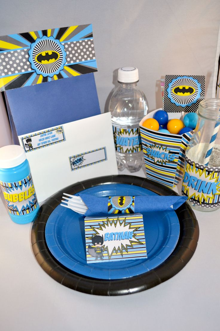from most with multiple designs super cute batman themed party
