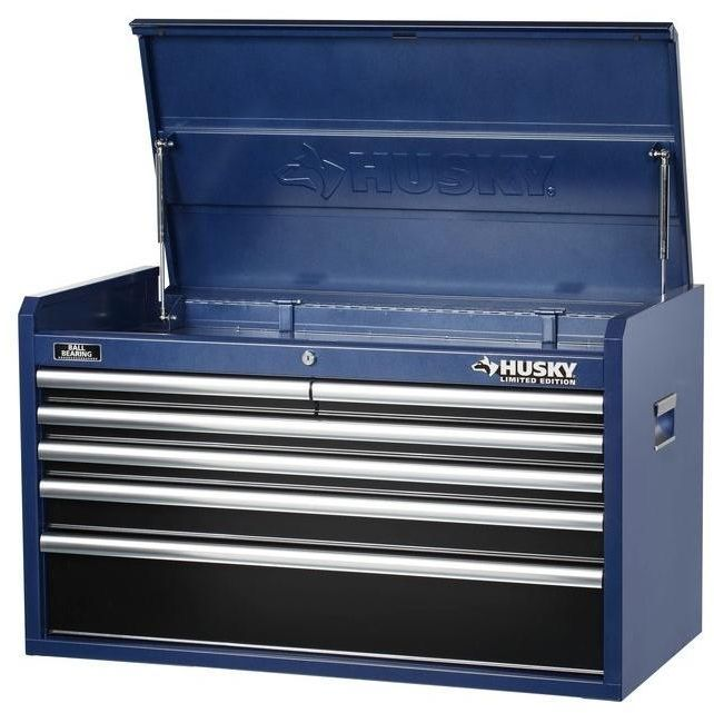 Husky 36 In 6 Drawer Mechanics Portable Tool Storage