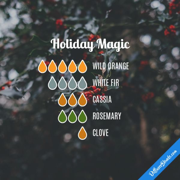 Holiday Magic - Essential Oil Diffuser Blend