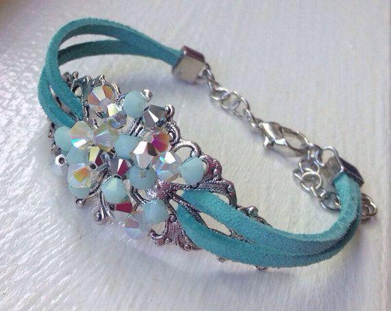 DeBella Swarovski beaded bracelet Enchanted