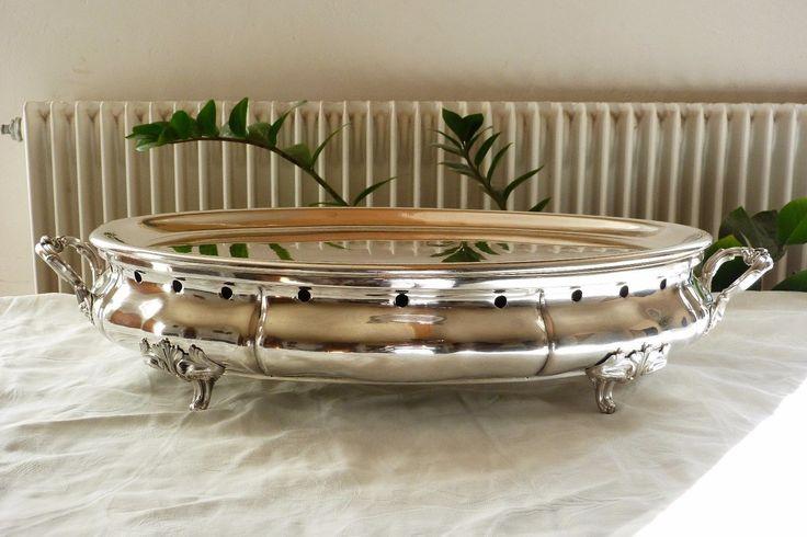 Très grand chauffe plat CHRISTOFLE en métal argenté 57,5 cm Ref 630 | Casa, arredamento e bricolage, Cucina: stoviglie e accessori, Stoviglie e biancheria cucina | eBay!