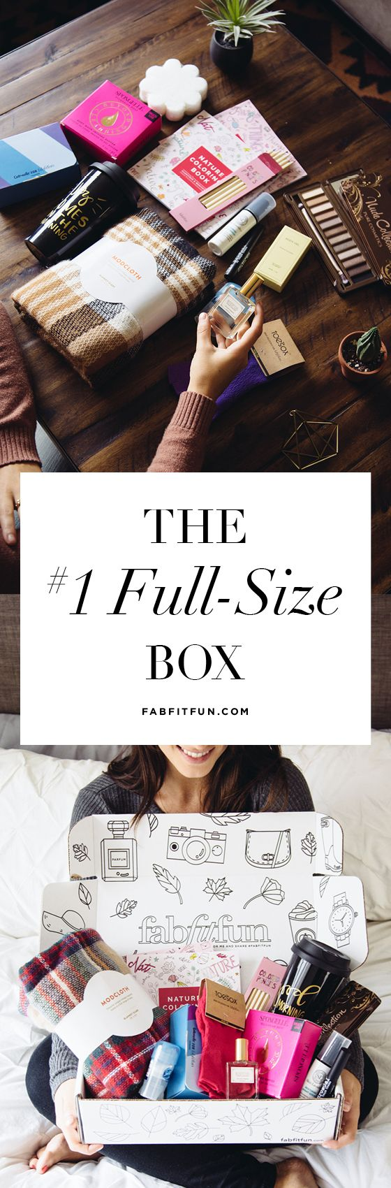 Treating yourself doesn't have break the bank. Say hello to FabFitFun and for just $39.99 you'll get a huge box stuffed with $200+ of full-size, luxury beauty, fashion, and wellness finds. Our boxes are delivered once a season. FREE Shipping. Use code JENNYM for $10 off your first box. #ad