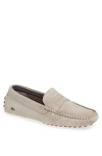 Lacoste 'Concours 13' Driving Shoe (Men) (Nordstrom Exclusive) available at #Nordstrom