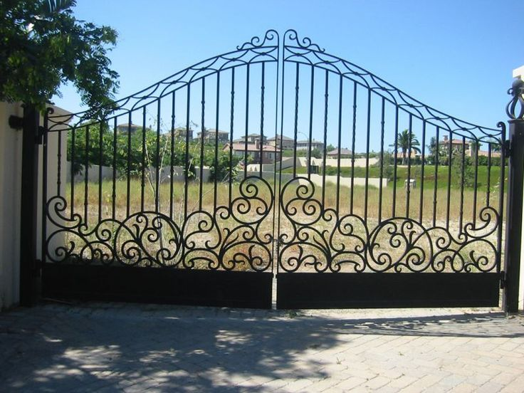 17 Best Images About Driveway Gates On Pinterest Entry Gates Iron Gates And Entrance