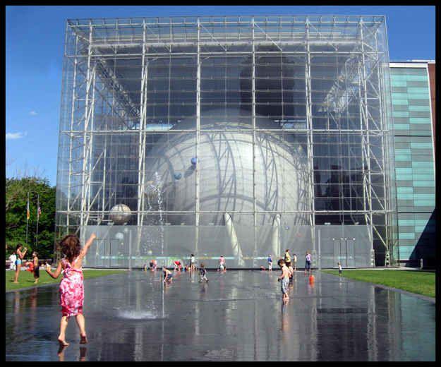 The Hayden Planetarium in New York