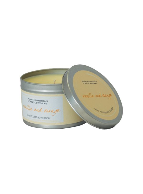 This Orange and Vanilla small candle tin will be a SCENT-sational addition to your home. Perfect for the home or given as a gift. They come presented in a stylish silver tin.