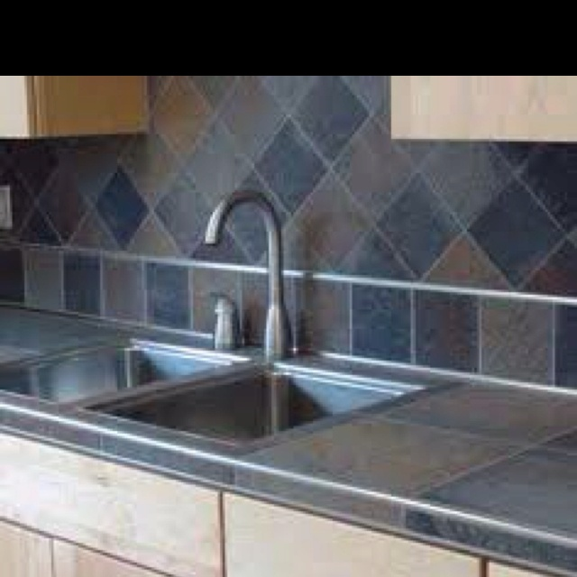 1000 images about slate countertop on pinterest orange