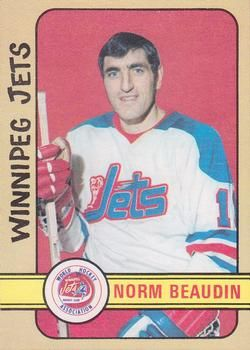 1972-73 O-Pee-Chee #290 Norm Beaudin Front