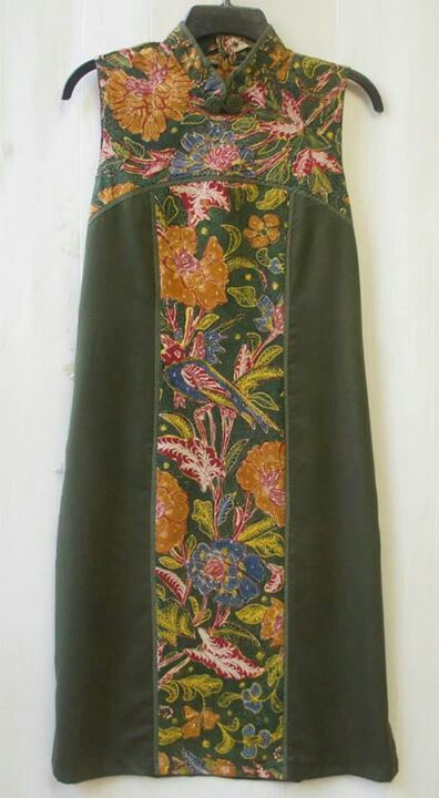 Batik Biantjoe tea dress