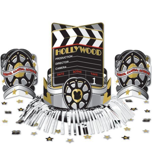 Hollywood Movie Centerpiece Kit 23pc