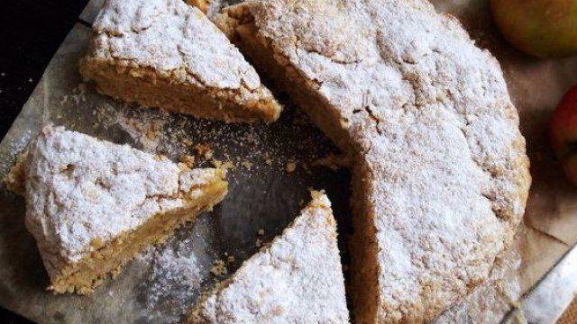 Zdravý a chutný koláčik.. Jablkový koláč s ovsenými vločkami a škoricou - Mňamky-Recepty.sk