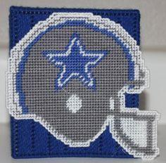 3238A Dallas Cowboys Tissue Box Cover by CraftsbyRandC on Etsy, $12.95