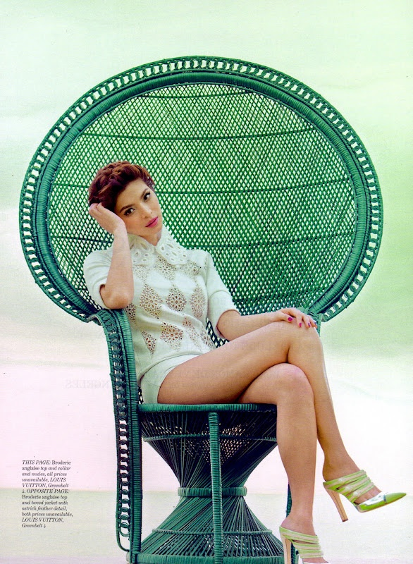 Angel Locsin in Editorial for Preview Magazine (March 2012) wearing Louis Vuitton Spring/Summer 2012 Collection