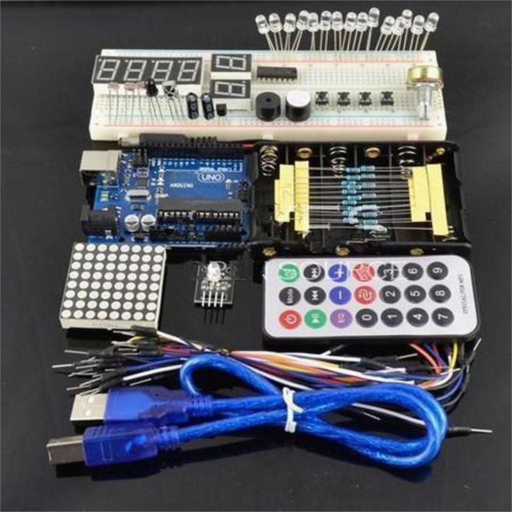 10 sets UNO Secondary Starter Kit For Arduino R3 With Retail Box Free Shipping