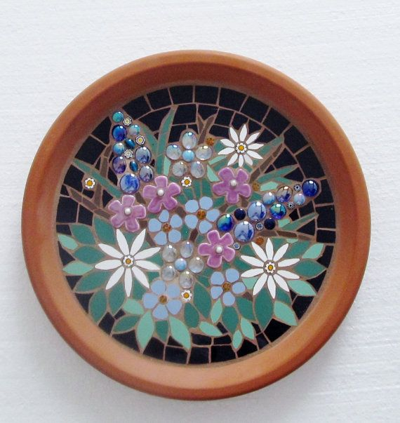 Hey, I found this really awesome Etsy listing at https://www.etsy.com/ca/listing/243275682/mosaic-birdbath-for-the-garden-floral
