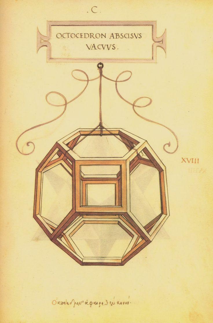 De Divina Proportione is a book by Luca Pacioli illustrated by Leonardo da Vinci | Graphicine