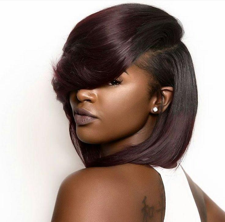 Marvelous 1000 Ideas About Black Hairstyles On Pinterest Hairstyles Short Hairstyles For Black Women Fulllsitofus