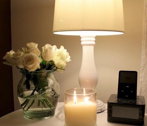 Gorgeous table arrangement #white