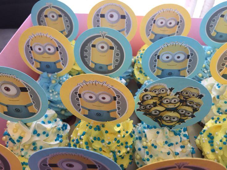 #Minions #Cupcakes