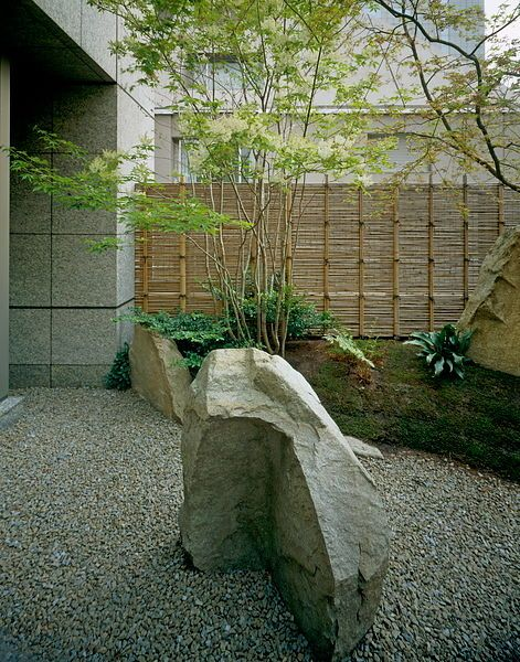 Stone Zen Garden 46 best stones at japanese gardens images on pinterest japanese a modern zen garden at the kojimachi kaikan in central tokyo japan the stones workwithnaturefo