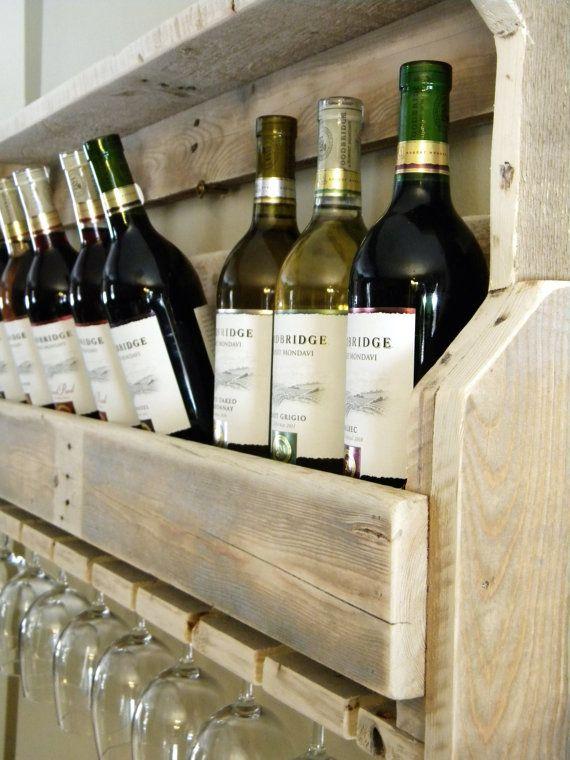 pallet furniture etsy. wine rack reclaimed pallet wood by jnmrusticdesigns 10500 furniture etsy