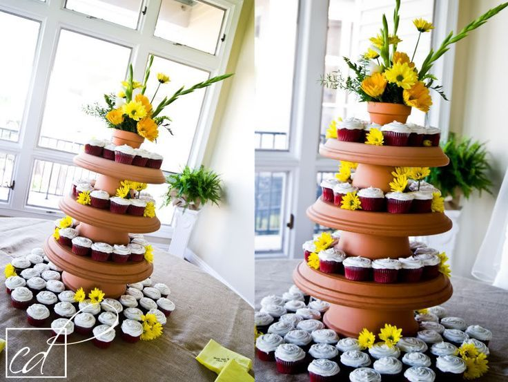 142 Best Cupcake Display Ideas Images On Pinterest