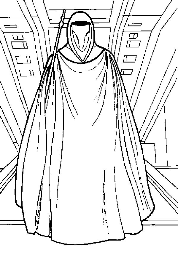 star wars coloring pages emperor coloring kids