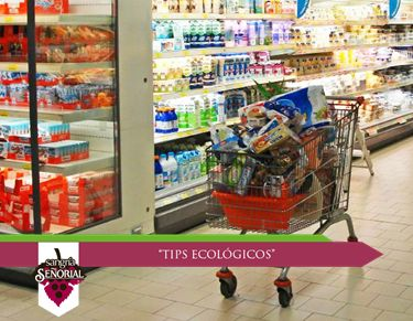 Prefiere productos con empaques fabricados con materiales reciclables; con ello contribuyes a que se consuman menos recursos naturales.