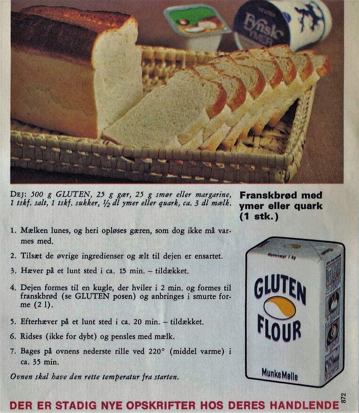 Fransbrød med Ymer eller Quark 1 stk...