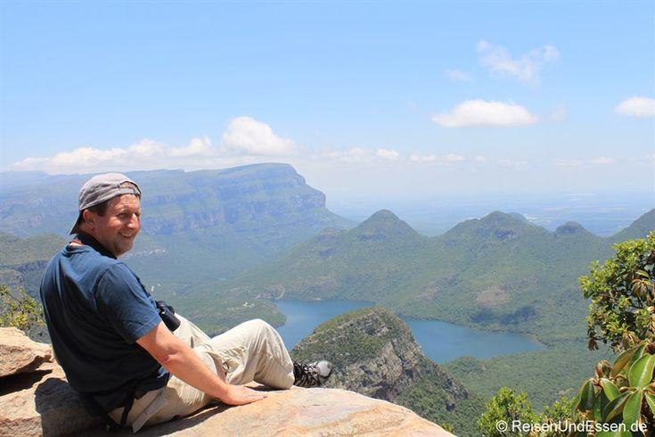 Die Rückfahrt vom Krüger Nationalpark führte über die Panoramaroute mit einem Stopp beim Blyde River Canyon. Eine beeindruckende Landschaft.