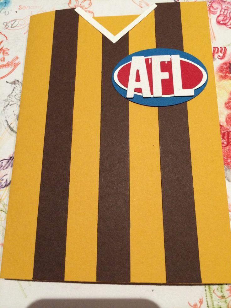 Afl Hawthorn card
