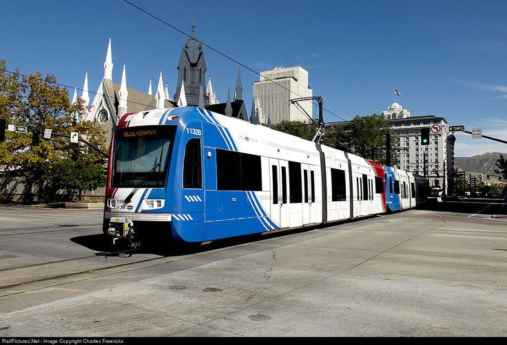 RailPictures.Net Photo: UTAX 1132 Utah Transit Authority Siemens S70 at Salt Lake City, Utah by Charles Freericks