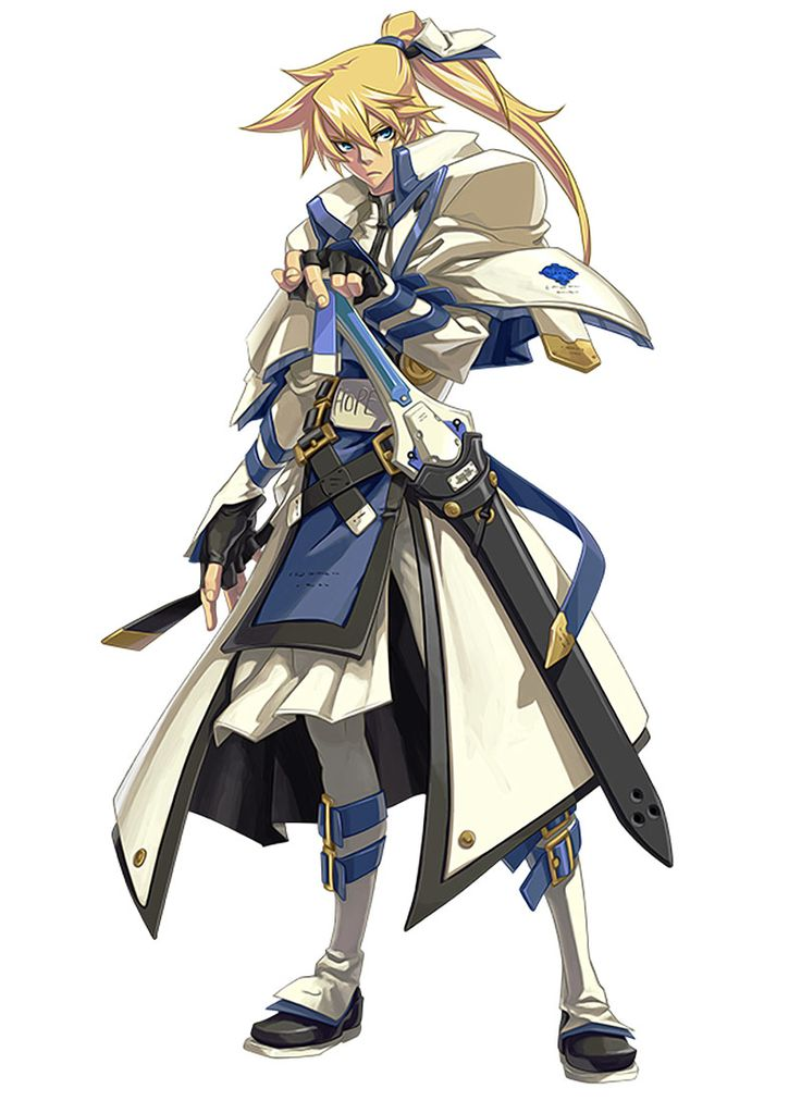 ✧ #characterconcepts ✧ Ky Kiske from Guilty Gear Xrd -Sign-